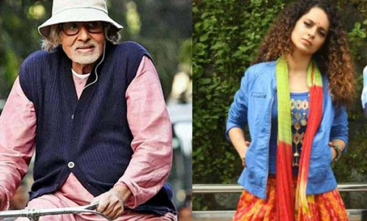 Big B has won the award for Piku and Kangana for Tanu Weds
