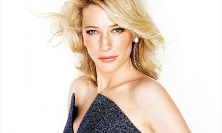 Academy Award winning actress Cate Blanchett flaunted a