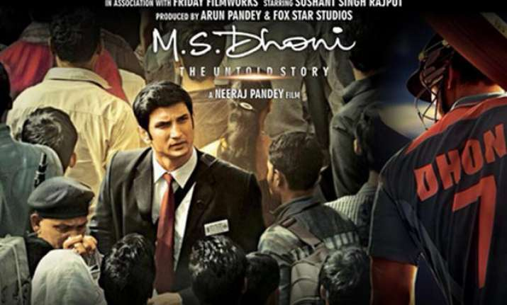 Sushant Singh Rajput in M.S. Dhoni - The Untold Story