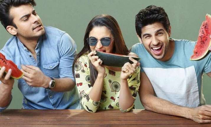 Sidharth Malhotra, Alia Bhatt and Fawad Khan