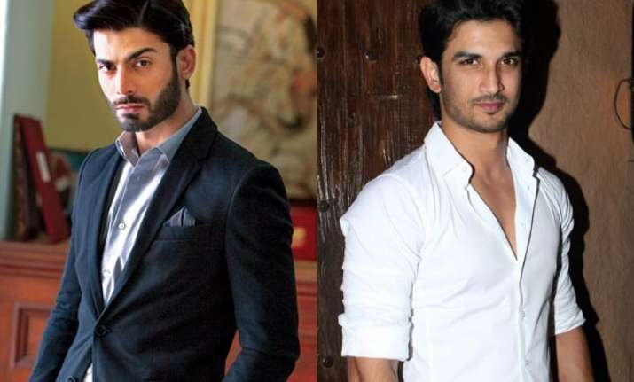 Fawad Khan and Sushant Singh Rajput