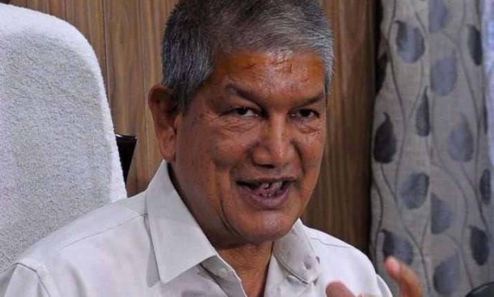 Harish Rawat, CM, Uttarakhand