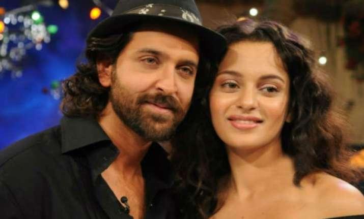 Hrithik Roshana and Kangana Ranaut