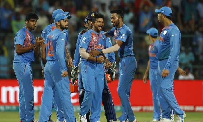 India celebrates victory against Bangladesh