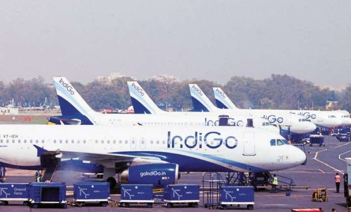 Indigo Airlines image for representation only