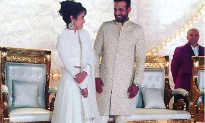 Irfan Pathan Wedding Reception