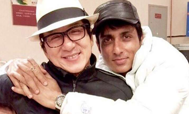 Jackie Chan with Sonu Sood