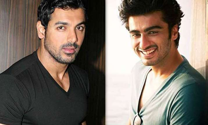 John Abraham and Arjun Kapoor