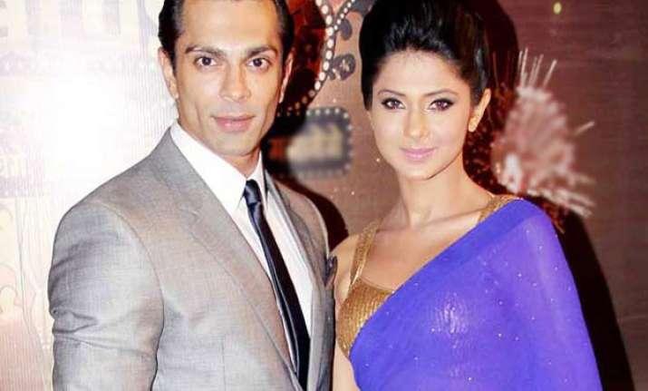 Karan Singh and Jennifer Winget