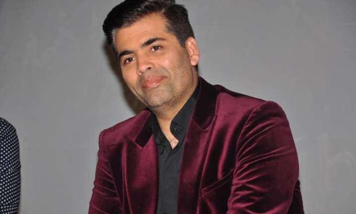 Karan Johar file pic