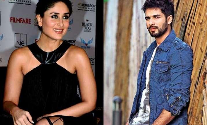Kareena Kapoor, Shahid Kapoor