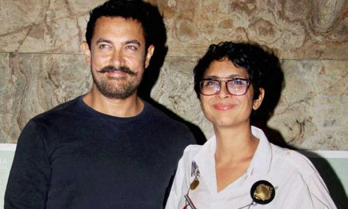 Aamir Khan with Kiran Rao