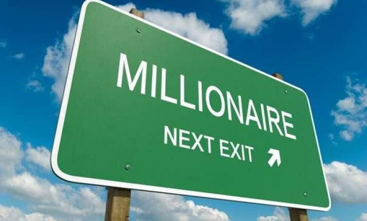 Millionaires exit India