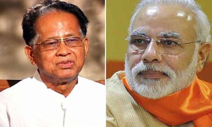Narendra Modi-Tarun Gogoi