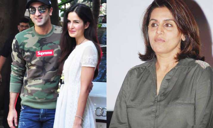 Ranbir Kapoor, Katrina Kaif, Neetu Singh