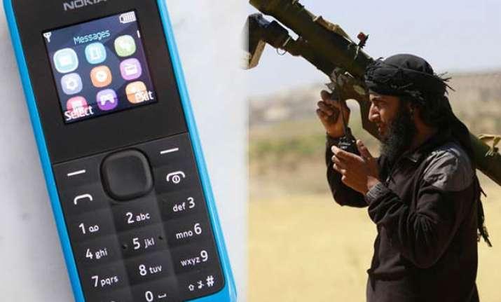 ISIS using Nokia 105