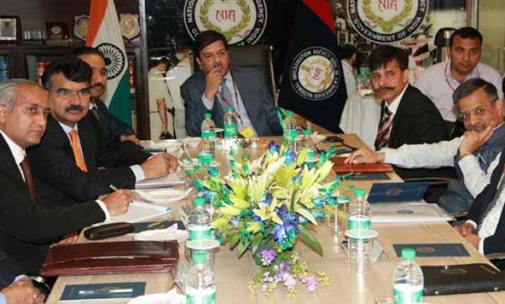 Briefing of Pak JIT members by Indian side