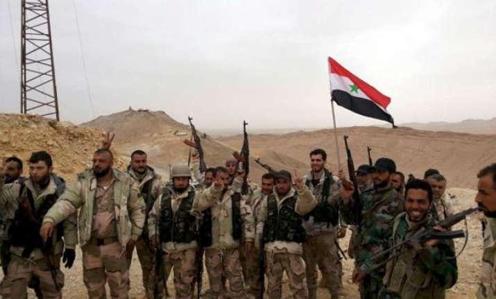 Syria forces retake Palmyra