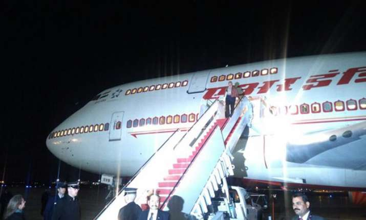 PM Narendra Modi arrives in Washington