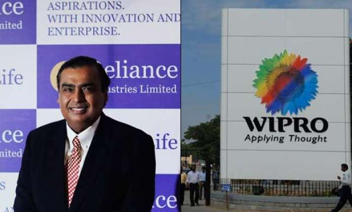 reliance and wipro