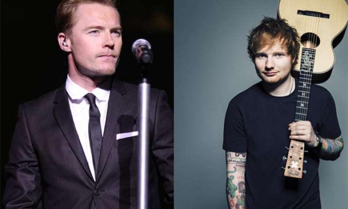 Ronan Keating, Ed Sheeran