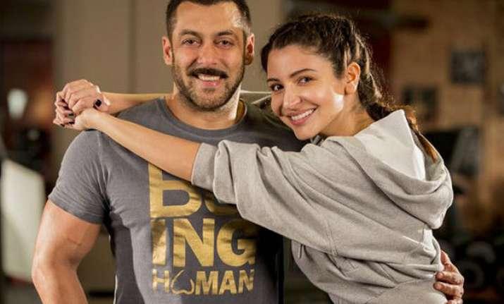 Salman Khan with Anushka Sharma