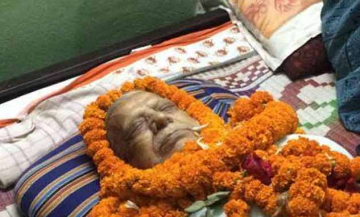 Sanskrit Scholar died