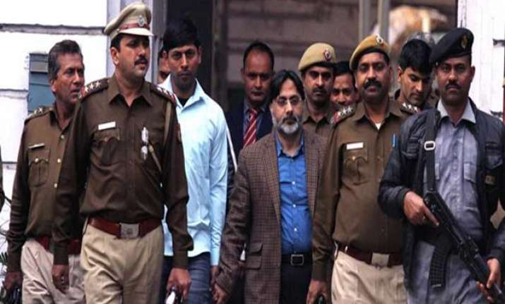 SAR Gilani being produced at patiala house court in new