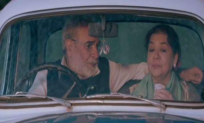 Farida Jalal and Kulbhushan Kharbhanda in 'Scandal Point'