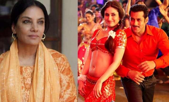 Shabana Azmi, Kareena Kapoor, Salman Khan