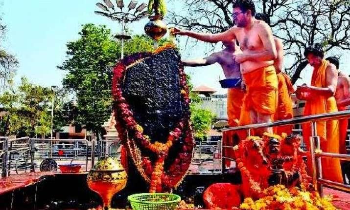 Shani Shingnapur temple, Ahmednagar, Maharashtra