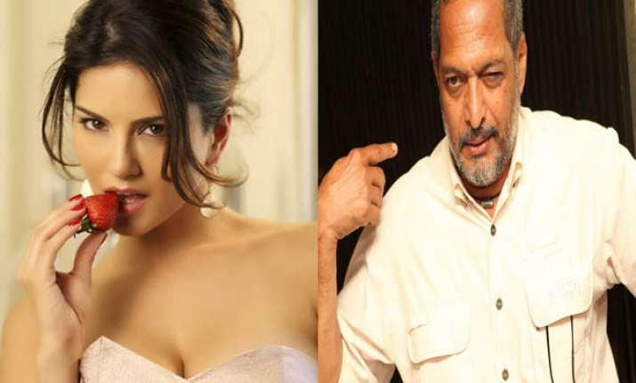 Sunny Leone and Nana Patekar