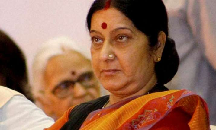 Sushma Swaraj, External Affairs Minister
