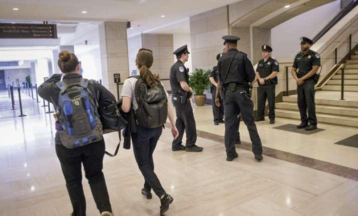 Shooting at US Capitol complex
