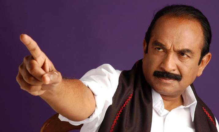 V Gopalsamy alias Vaiko, General Secretary, MDMK