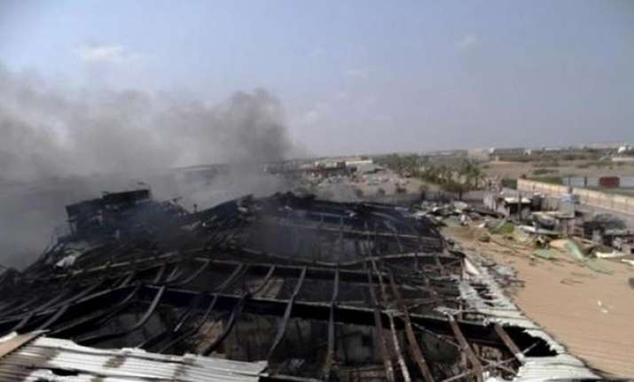 Explosion at Yemen factory