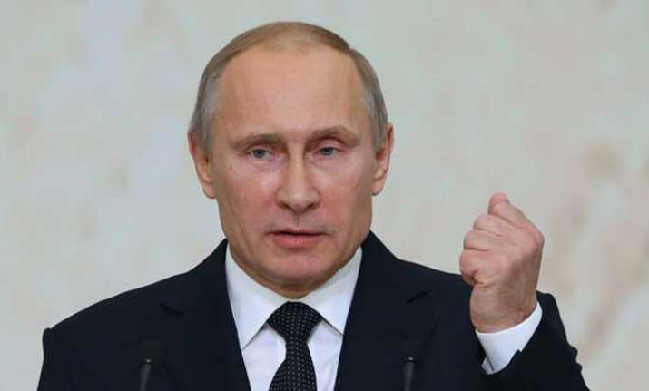 Russian President Vladimir Putin unveiled a new