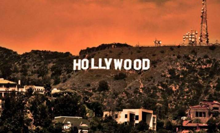 The Hollywood Sign, American cultural icon located in Los