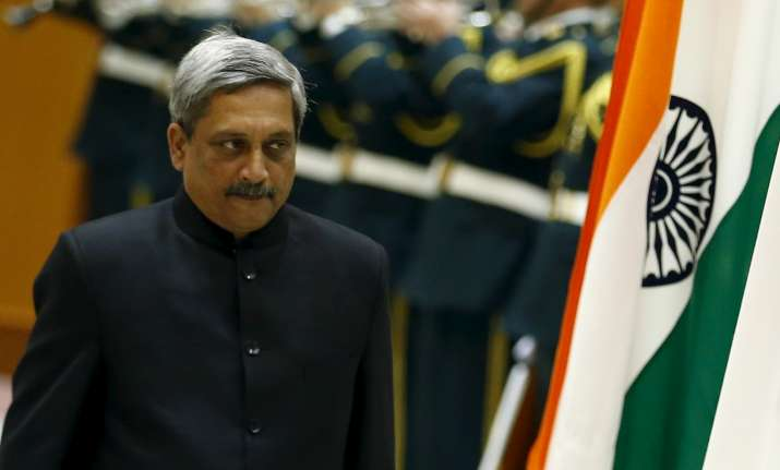 Logistics Agreement With Us Will Help India Manohar Parrikar