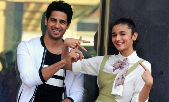 Alia and Sidharth