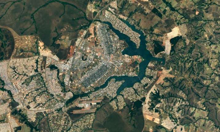Google Maps Gets A Sharper New Look Thanks To NASA Satellite - Search satellite maps