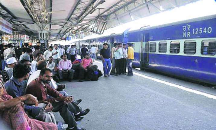 problem faced by people due to railway station in india Get here train between two stations by just entering departure and arrival trains travel all across india between many stations problem with train status.