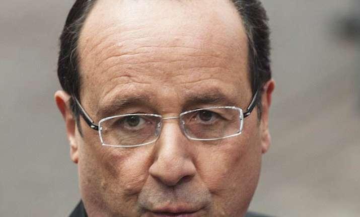 Francois Hollande. French President