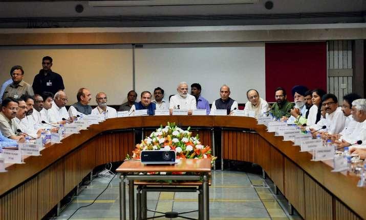 PM Modi, Rajnath Singh, Arun Jaitley, Anant Kumar along