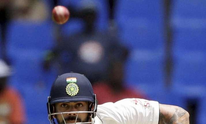 Virat Kohli in action