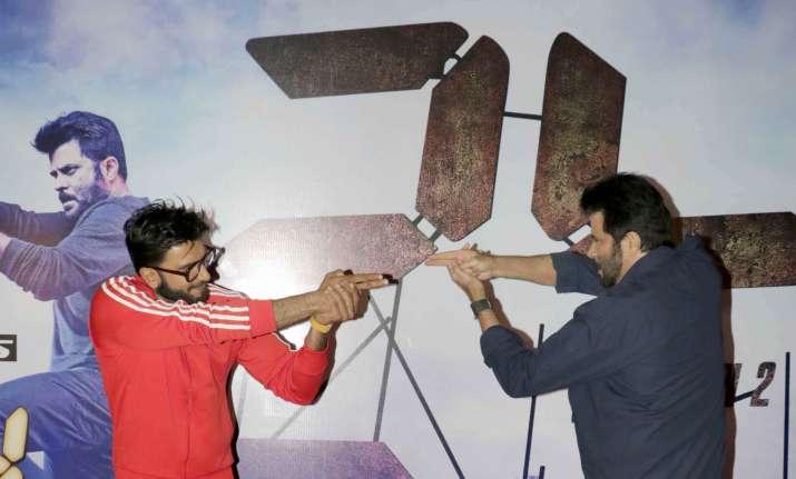 When Ranveer started acting like Anil Kapoor and Aditya