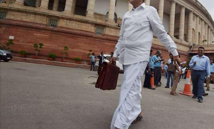 Former Home Minister P Chidambaram