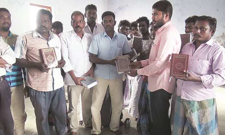 Denied entry into temple, 250 Hindu Dalit families say they