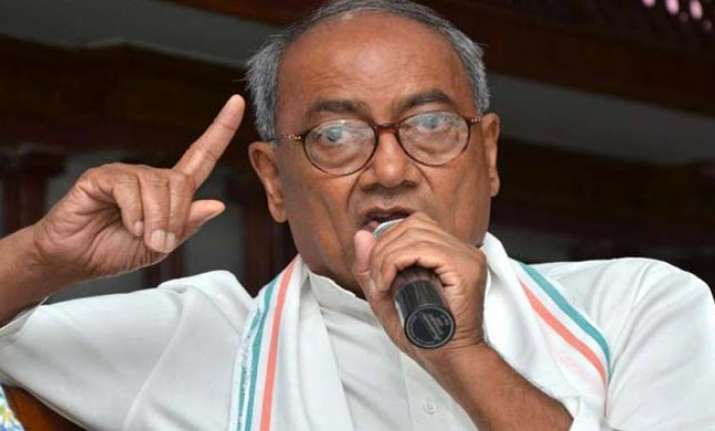 Congress general secretary Digvijaya Singh