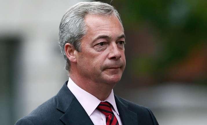 Nigel Farage resigns as UKIP leader